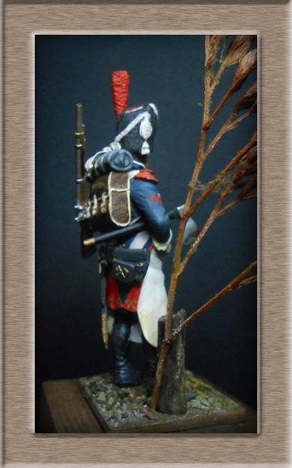 Grenadier 15e régiment Infanterie de la ligne Espagne 1807 MM 54m (modifications)  - Page 2 74_27611