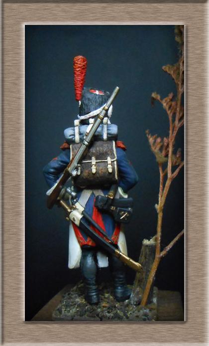 Grenadier 15e régiment Infanterie de la ligne Espagne 1807 MM 54m (modifications)  - Page 2 74_27612