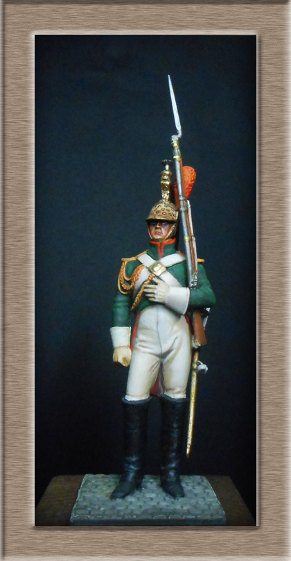 Grenadier 15e régiment Infanterie de la ligne Espagne 1807 MM 54m (modifications)  74_28011