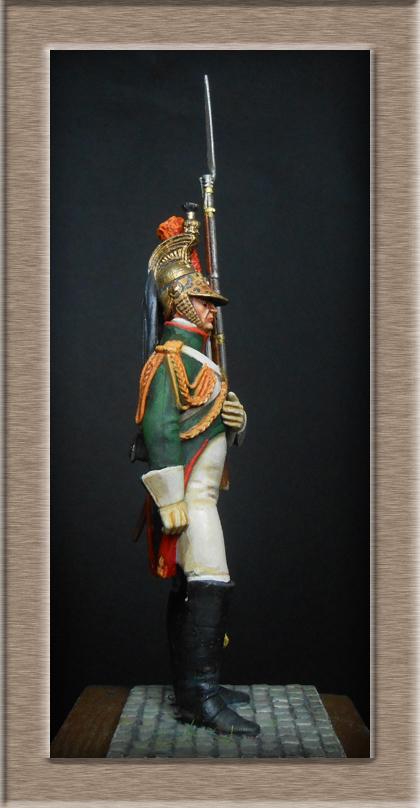 Grenadier 15e régiment Infanterie de la ligne Espagne 1807 MM 54m (modifications)  74_28012