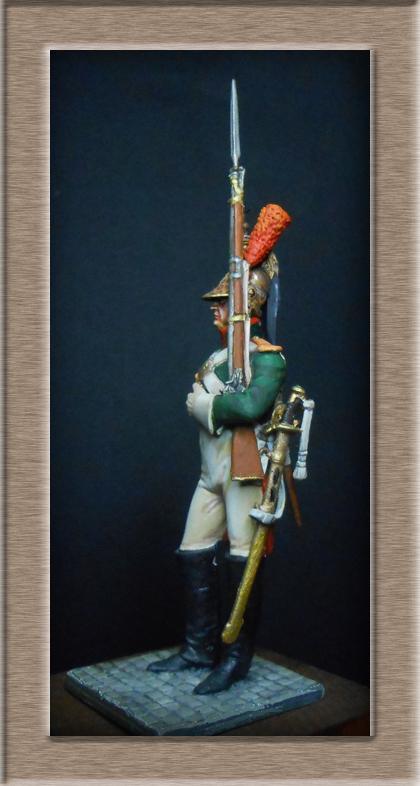 Grenadier 15e régiment Infanterie de la ligne Espagne 1807 MM 54m (modifications)  74_28110