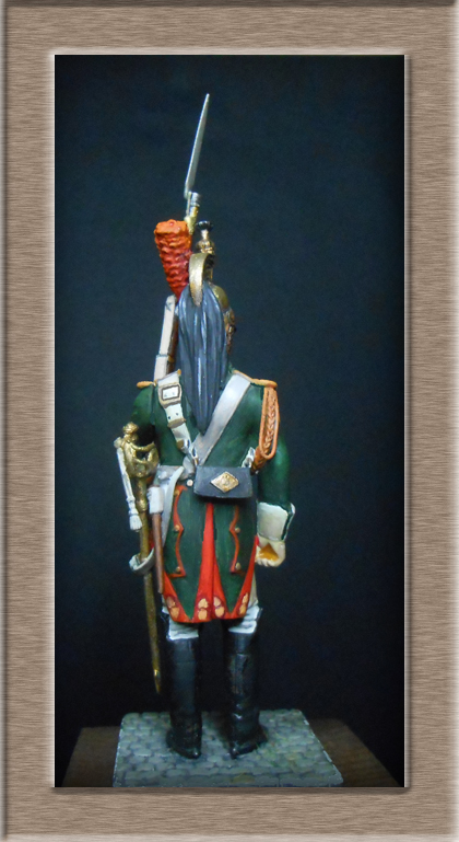 Grenadier 15e régiment Infanterie de la ligne Espagne 1807 MM 54m (modifications)  74_28111