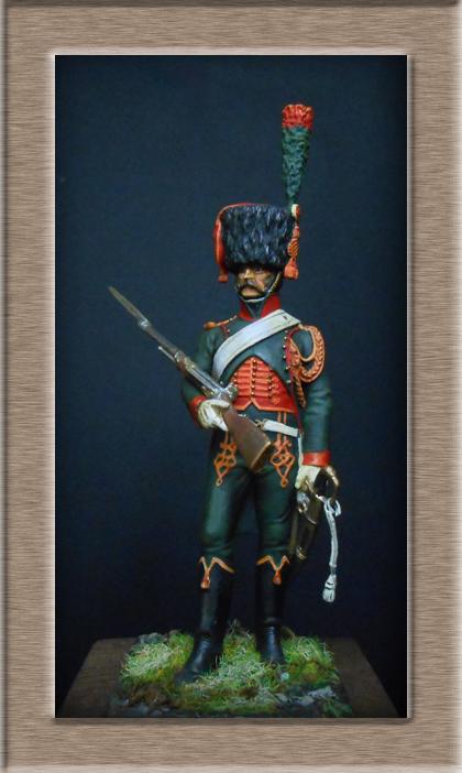 Grenadier 15e régiment Infanterie de la ligne Espagne 1807 MM 54m (modifications)  74_28211