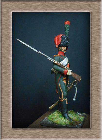 Grenadier 15e régiment Infanterie de la ligne Espagne 1807 MM 54m (modifications)  74_28311