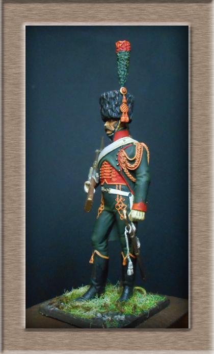Grenadier 15e régiment Infanterie de la ligne Espagne 1807 MM 54m (modifications)  74_28312