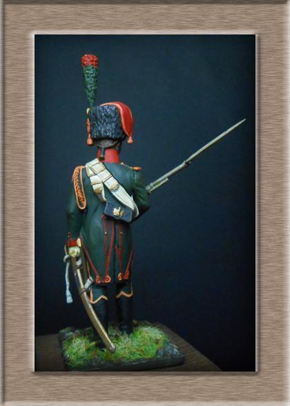 Grenadier 15e régiment Infanterie de la ligne Espagne 1807 MM 54m (modifications)  74_28313