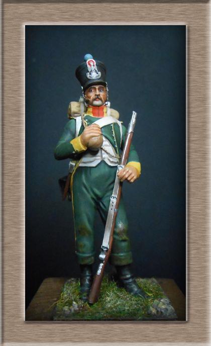Grenadier 15e régiment Infanterie de la ligne Espagne 1807 MM 54m (modifications)  74_28611