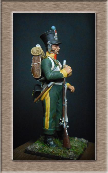 Grenadier 15e régiment Infanterie de la ligne Espagne 1807 MM 54m (modifications)  74_28612