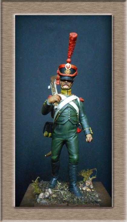 Grenadier 15e régiment Infanterie de la ligne Espagne 1807 MM 54m (modifications)  74_30210