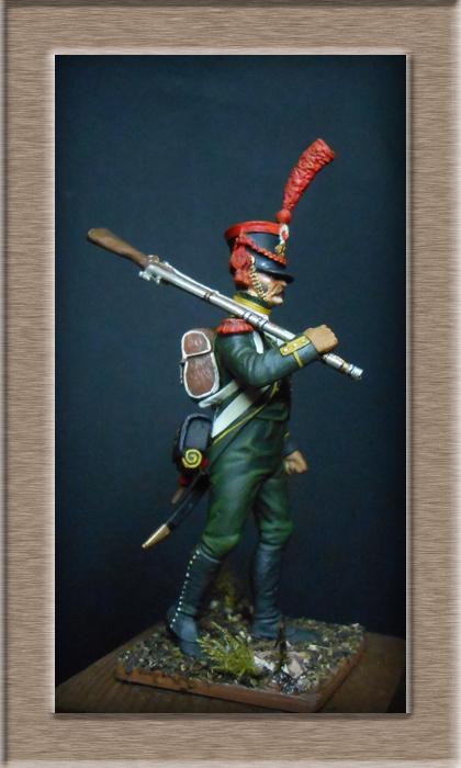 Grenadier 15e régiment Infanterie de la ligne Espagne 1807 MM 54m (modifications)  74_30410