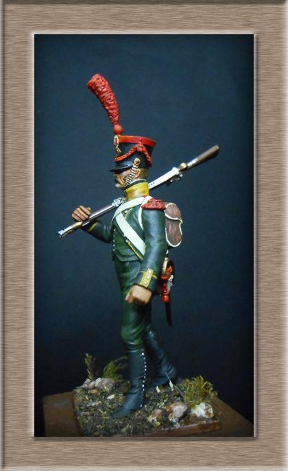 Grenadier 15e régiment Infanterie de la ligne Espagne 1807 MM 54m (modifications)  74_31010