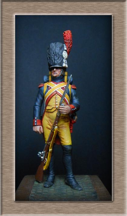 Grenadier 15e régiment Infanterie de la ligne Espagne 1807 MM 54m (modifications)  74_54310