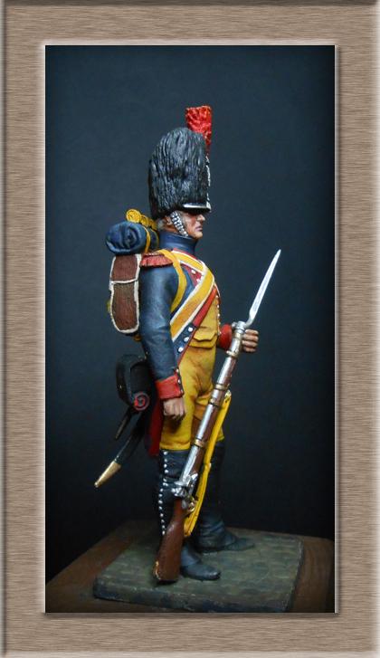 Grenadier 15e régiment Infanterie de la ligne Espagne 1807 MM 54m (modifications)  74_54810