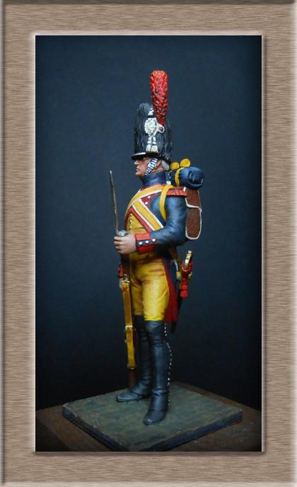 Grenadier 15e régiment Infanterie de la ligne Espagne 1807 MM 54m (modifications)  74_55910
