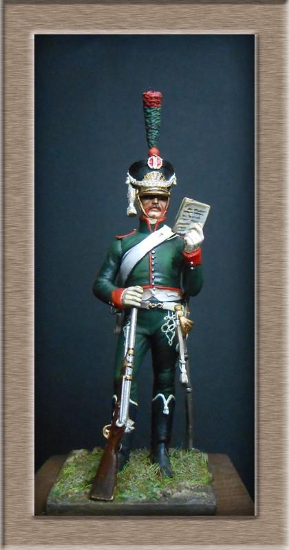 Grenadier 15e régiment Infanterie de la ligne Espagne 1807 MM 54m (modifications)  74_64210