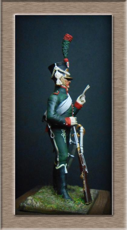 Grenadier 15e régiment Infanterie de la ligne Espagne 1807 MM 54m (modifications)  74_64510