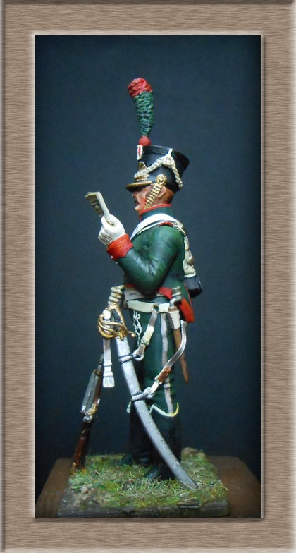 Grenadier 15e régiment Infanterie de la ligne Espagne 1807 MM 54m (modifications)  74_65110