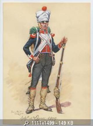 Grenadier du 44e de ligne Espagne 1809 (tenue de campagne) MM54mm Ca3b0d13