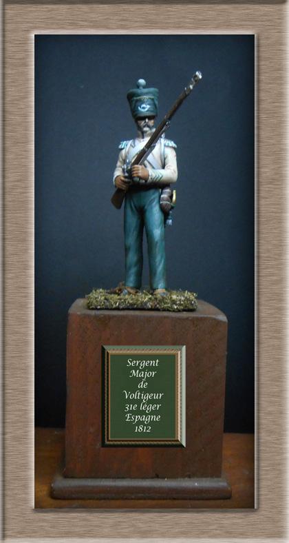 Conversion Sergent_Major voltigeur du 31e léger Espagne 1812 Photo_23