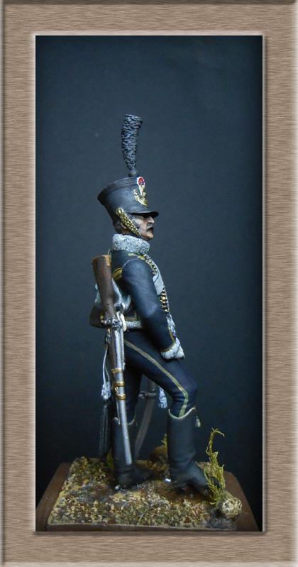 Hussard du 11e régiment 1812 MM 54mm Photo_40
