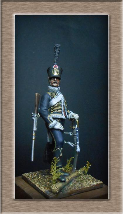 Hussard du 11e régiment 1812 MM 54mm Photo_41