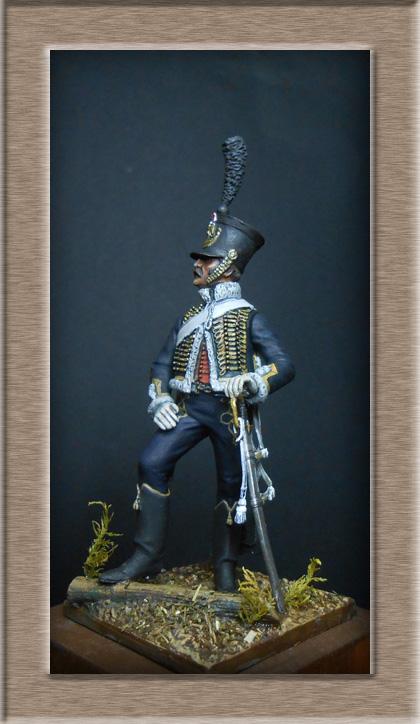 Hussard du 11e régiment 1812 MM 54mm Photo_42