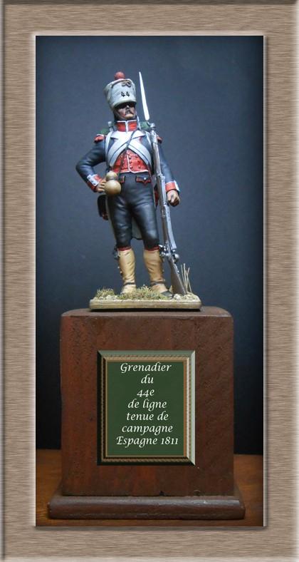 Grenadier du 44e de ligne Espagne 1809 (tenue de campagne) MM54mm Photo_69