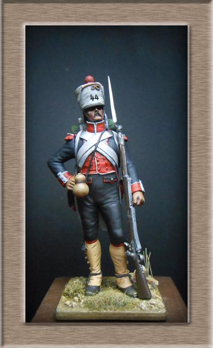 Grenadier du 44e de ligne Espagne 1809 (tenue de campagne) MM54mm Photo_70
