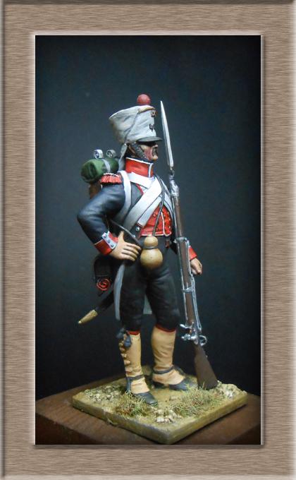 Grenadier du 44e de ligne Espagne 1809 (tenue de campagne) MM54mm Photo_71