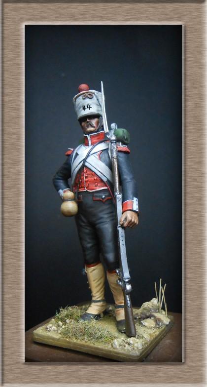 Grenadier du 44e de ligne Espagne 1809 (tenue de campagne) MM54mm Photo_72