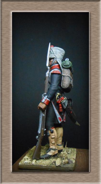 Grenadier du 44e de ligne Espagne 1809 (tenue de campagne) MM54mm Photo_73