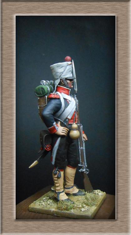 Grenadier du 44e de ligne Espagne 1809 (tenue de campagne) MM54mm Photo_74