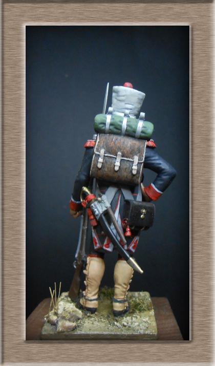 Grenadier du 44e de ligne Espagne 1809 (tenue de campagne) MM54mm Photo_75