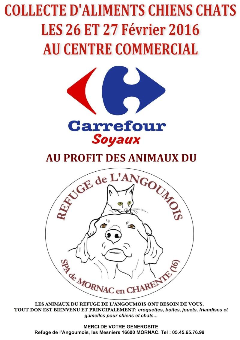 Opération caddies Carrefour Soyaux les 26 et 27 Fevrier 2016 Opycar10