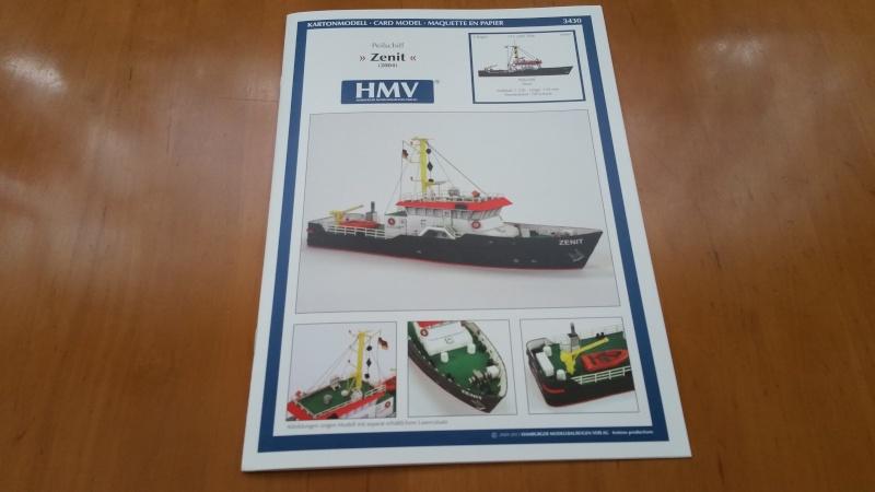 Peilschiff Zenit  HMV  1:250 gebaut von Paperfreak 20150810