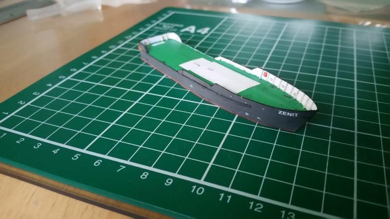 Peilschiff Zenit  HMV  1:250 gebaut von Paperfreak 20151125