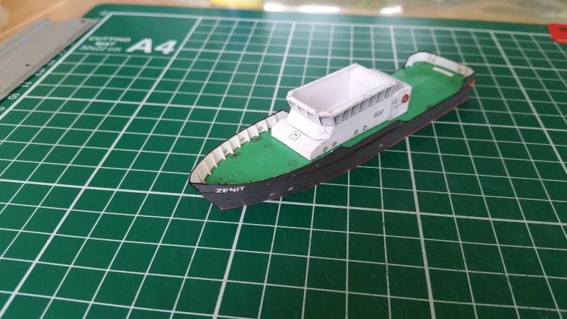 Peilschiff Zenit  HMV  1:250 gebaut von Paperfreak 20151215