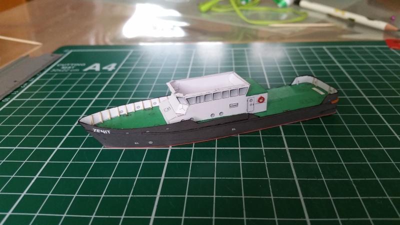 Peilschiff Zenit  HMV  1:250 gebaut von Paperfreak 20151217