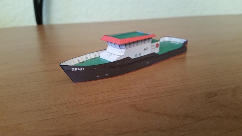 Peilschiff Zenit  HMV  1:250 gebaut von Paperfreak 20151222