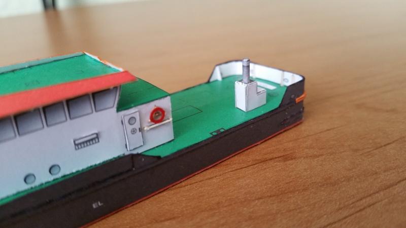Peilschiff Zenit  HMV  1:250 gebaut von Paperfreak 20151237