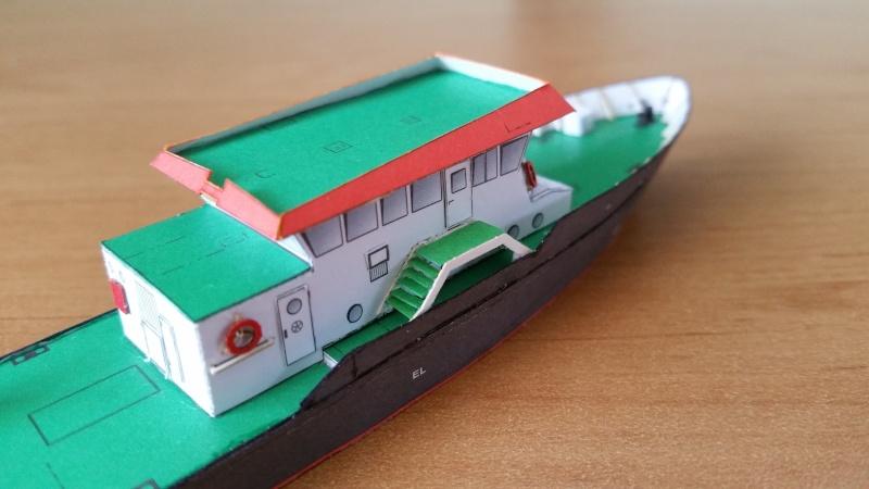 Peilschiff Zenit  HMV  1:250 gebaut von Paperfreak 20151238