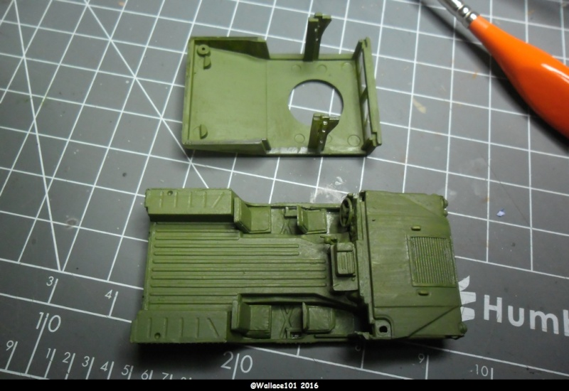 M1025 HMMWV W/Ask Task Force 1-77, LAS Anaconda, Irak 2004 1/72 Dragon (Ref: 7294) Sam_1143