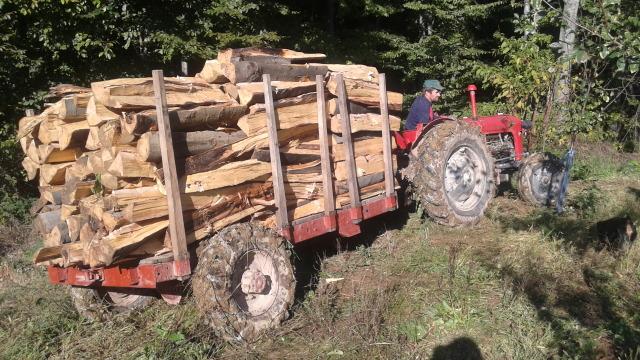 Ručni rad pogonska prikolica za šumarstvo 2hf8fe10