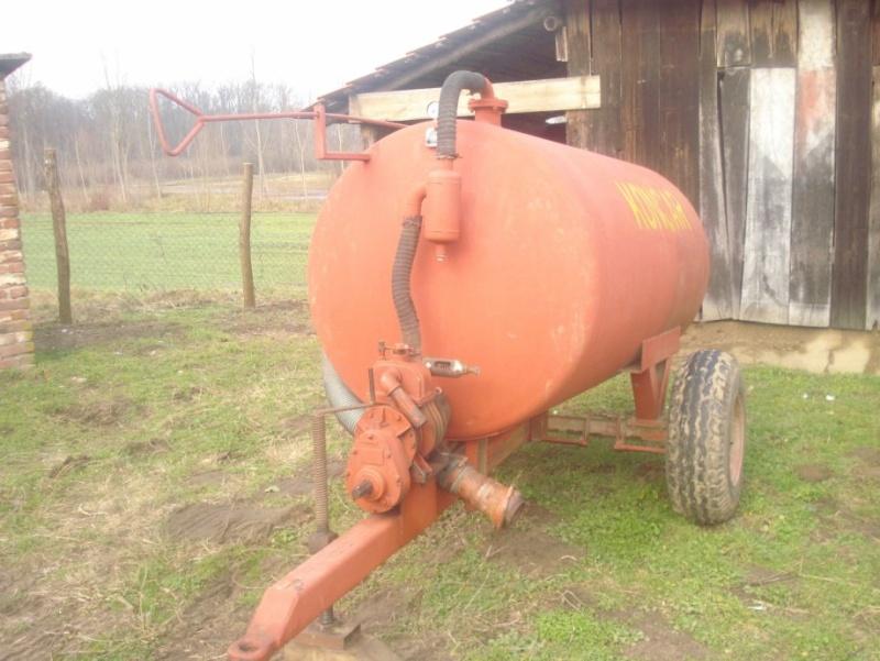Traktorska cisterna Končar Cister10