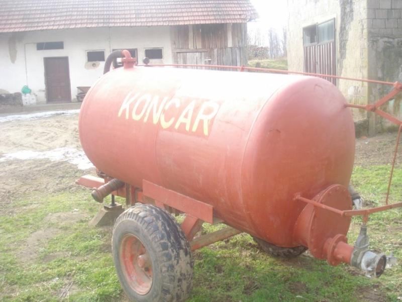 Traktorska cisterna Končar Cister14