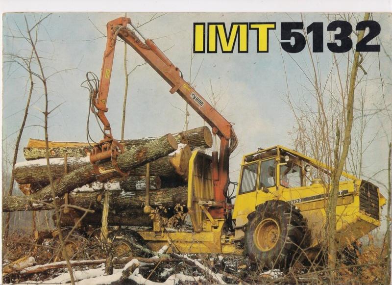 Traktor šumski  IMT 5132 opća tema Scanne40