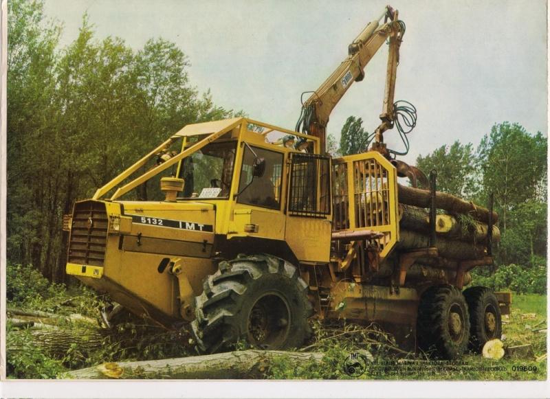 Traktor šumski  IMT 5132 opća tema Scanne42