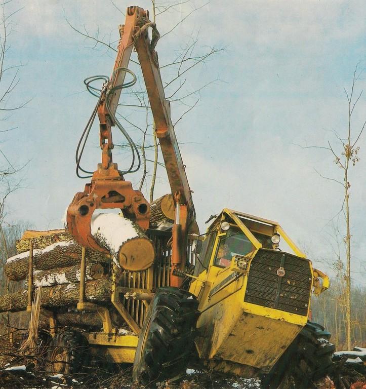 Traktor šumski  IMT 5132 opća tema Scanne43