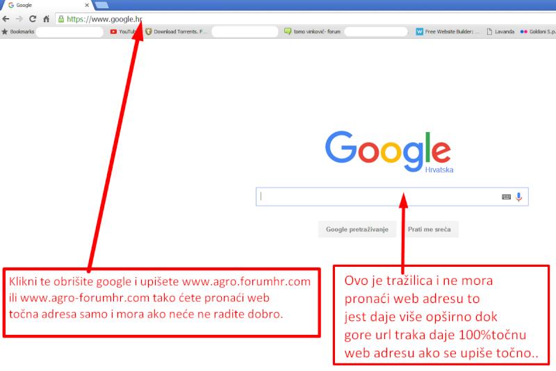 Zamjena web adrese Foruma Screen19
