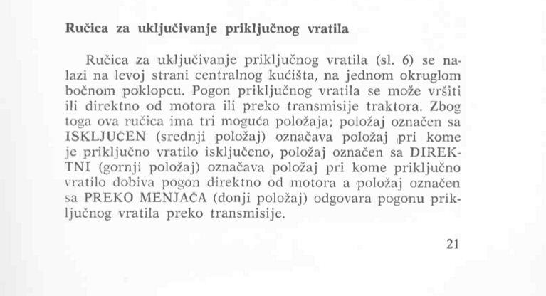Ručni rad pogonska prikolica za šumarstvo Vratil10